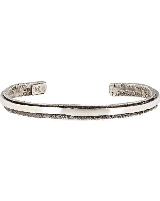 Zadeh | Metallic Orbit Cuff for Men | Lyst