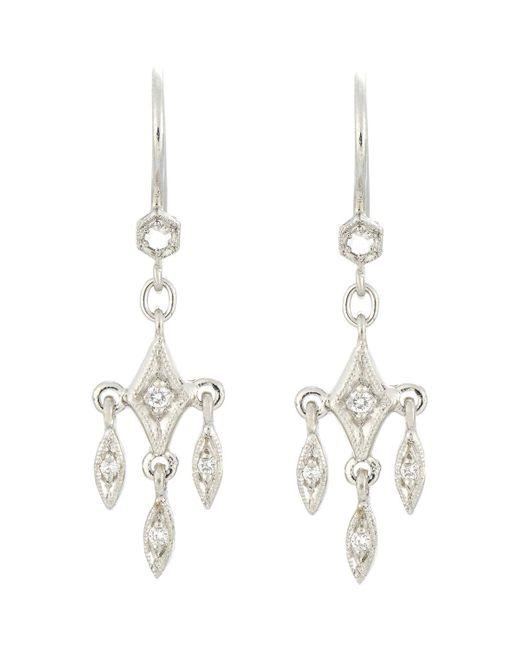 Cathy Waterman | Metallic Fringe Drop Earrings | Lyst