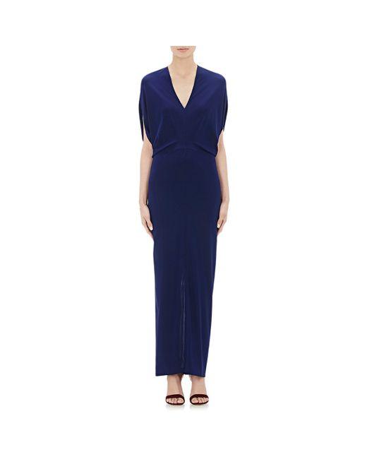 Zero + Maria Cornejo | Blue Reni Gown | Lyst