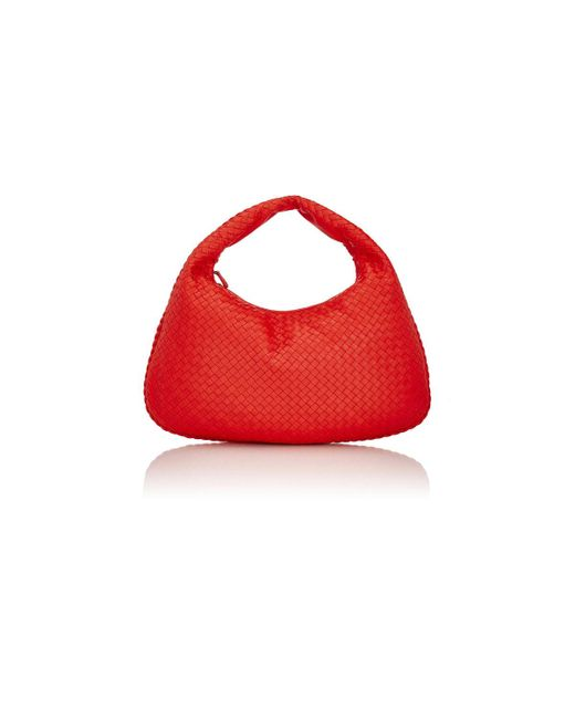 Bottega Veneta | Red Intrecciato Large Hobo | Lyst