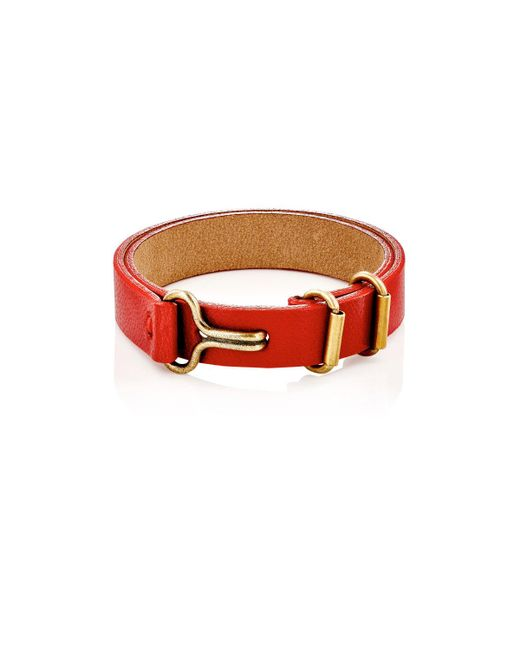 Giles & Brother | Leather Layered Bracelet | Lyst