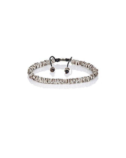 M. Cohen | Metallic Oxidized Silver Bracelet | Lyst