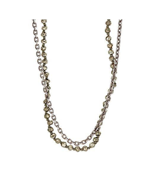 M. Cohen | Metallic Beaded Double for Men | Lyst