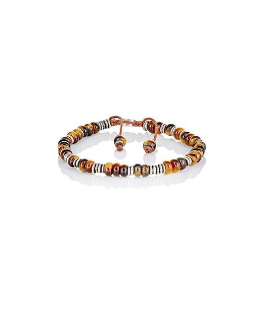 M. Cohen | Brown Beaded Bracelet | Lyst