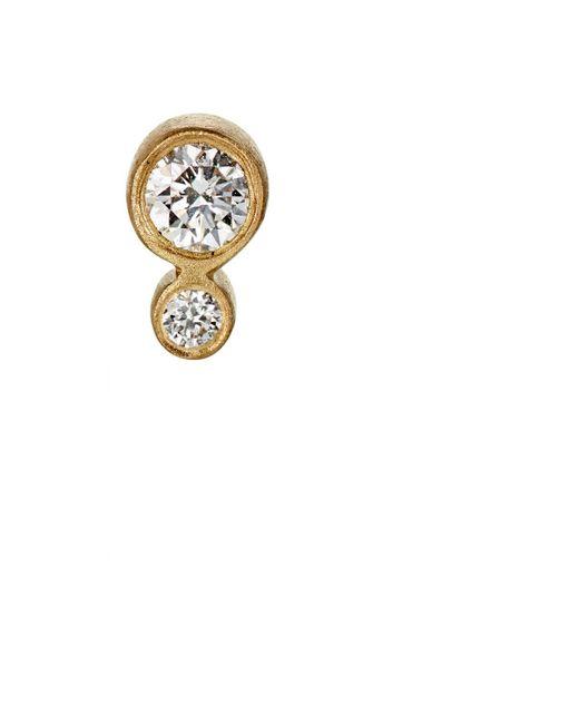 Sophie Bille Brahe | Metallic Lulu Grand Stud Earring | Lyst