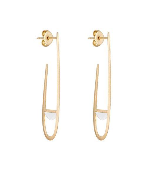 Monique Péan   Multicolor Arch Hoop Earrings   Lyst