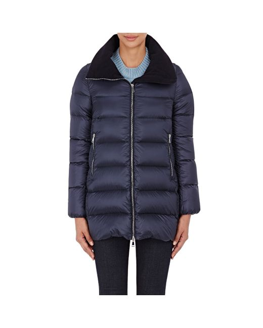 Moncler | Blue Torcyn Quilted Shell Jacket | Lyst