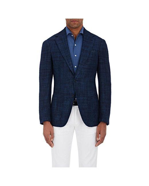Cifonelli   Blue Montecarlo Silk-cotton Two for Men   Lyst
