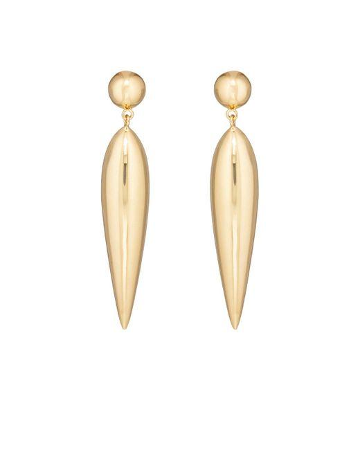 Agmes | Metallic Audrey Earrings | Lyst