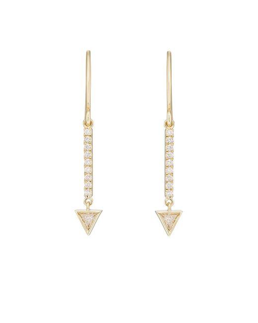 Jennifer Meyer   Metallic Mini Stick Drop Earrings   Lyst