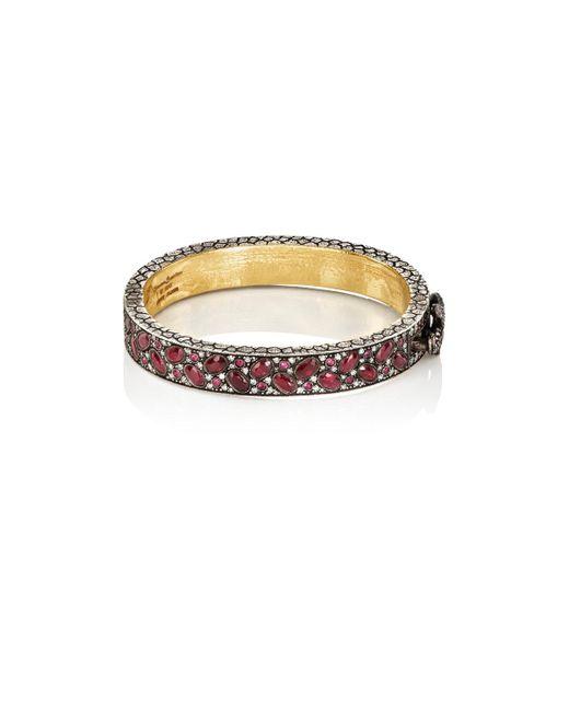 Sevan Biçakci   Red Ruby & White Diamond Bangle   Lyst