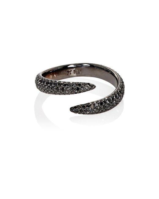 Eva Fehren - Metallic Claw Midi Ring - Lyst