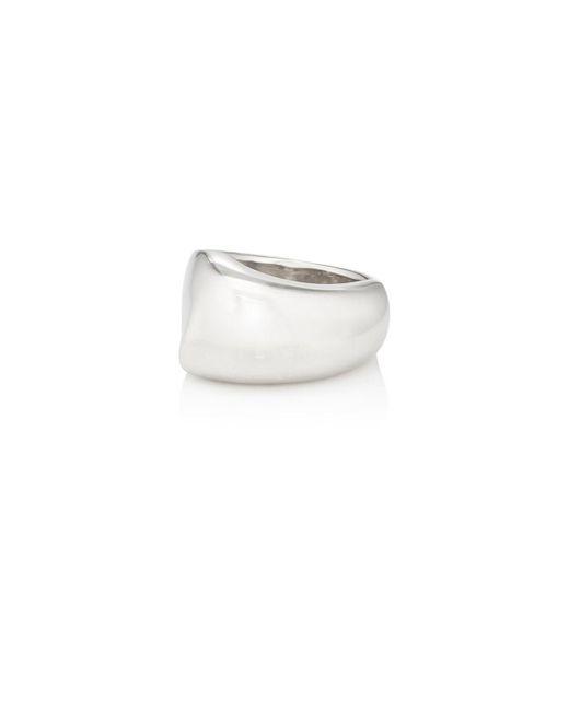 VIOLA.Y JEWELRY - Metallic Curved Ring - Lyst