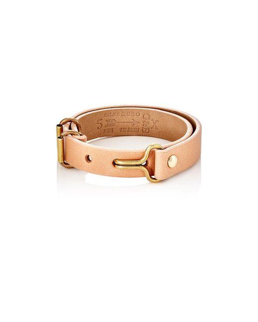 Giles & Brother - Multicolor Visor Cuff Bracelet for Men - Lyst