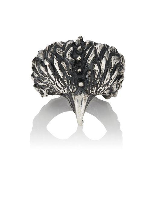 Emanuele Bicocchi - Metallic Bird Sterling Silver Ring - Lyst