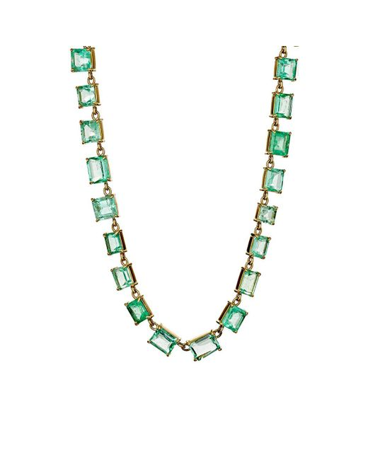 Irene Neuwirth - Multicolor Colombian Emerald Necklace - Lyst