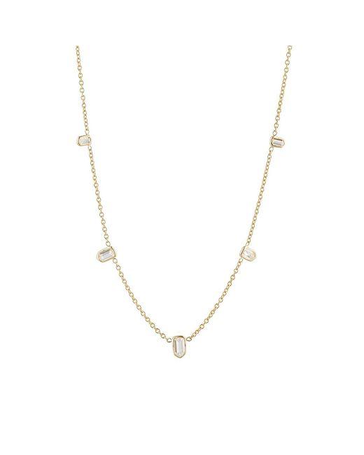 Finn - Metallic Bullet Diamond Necklace - Lyst