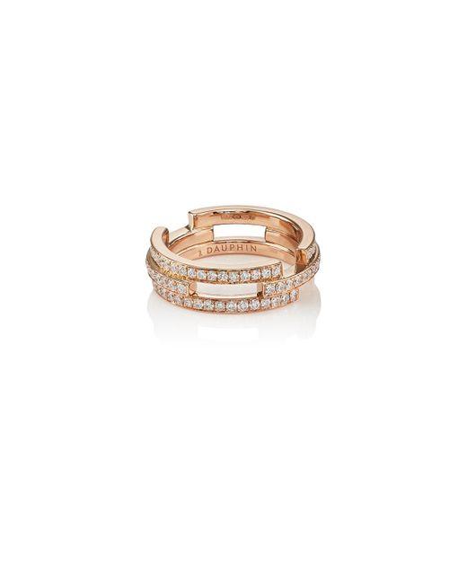 Dauphin - Metallic Small Volume Ring - Lyst