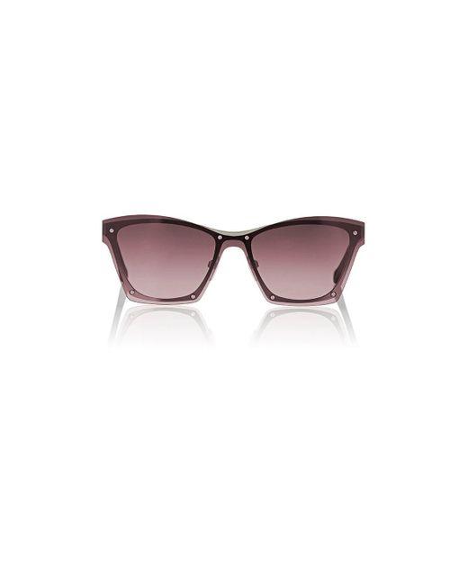 Balenciaga | Purple Ba 106 Sunglasses | Lyst