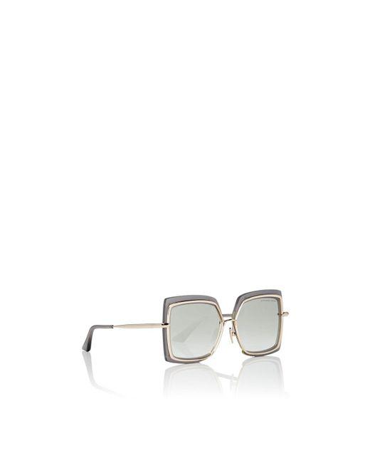9a3795efefff ... Dita - Gray Narcissus Sunglasses - Lyst ...