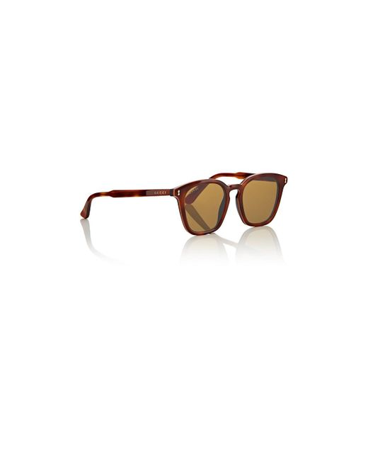 f8a7cc8d00d ... Gucci - Brown GG0125S Sunglasses for Men - Lyst ...