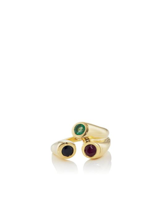Pamela Love - Metallic Aorta Ring Size 6 - Lyst