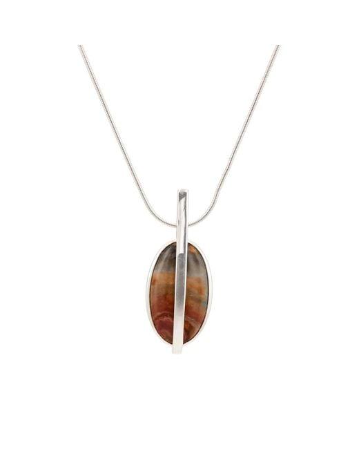 Pamela Love - Metallic Large Stratum Pendant Necklace - Lyst
