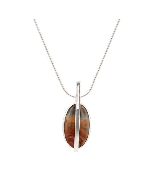 Pamela Love - Metallic Large Stratum Pendant Necklace - Lyst