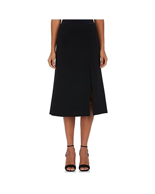 Narciso Rodriguez | Black Wool Pencil Skirt | Lyst