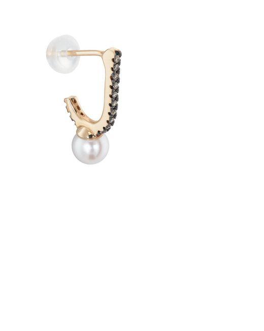 Hirotaka - Metallic Inner Hook Earring - Lyst