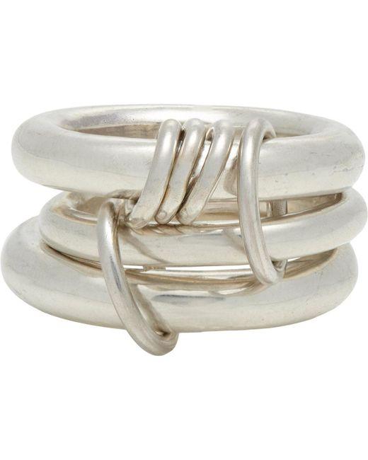 Spinelli Kilcollin   Metallic Sterling Silver hydra Ring for Men   Lyst