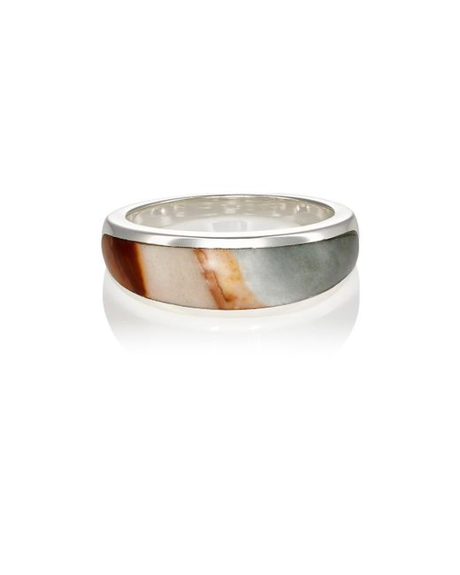 Pamela Love - Metallic Inlay Cocktail Ring - Lyst