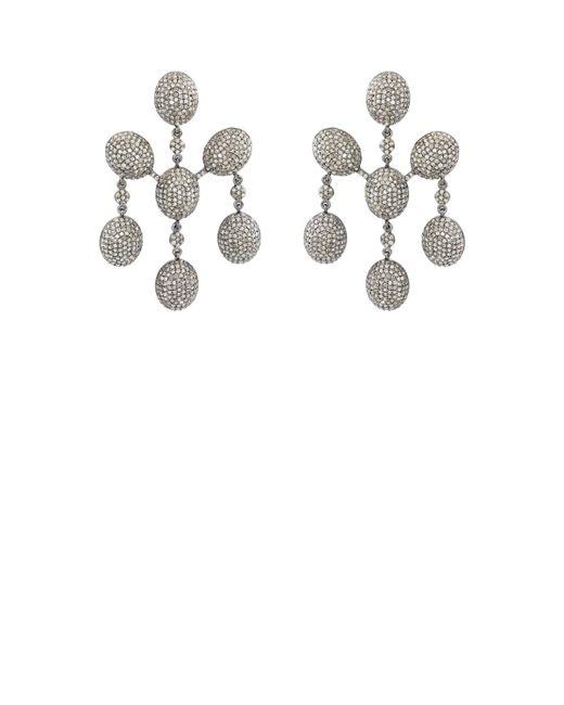 Carole Shashona - Metallic Six Blessings Earrings - Lyst