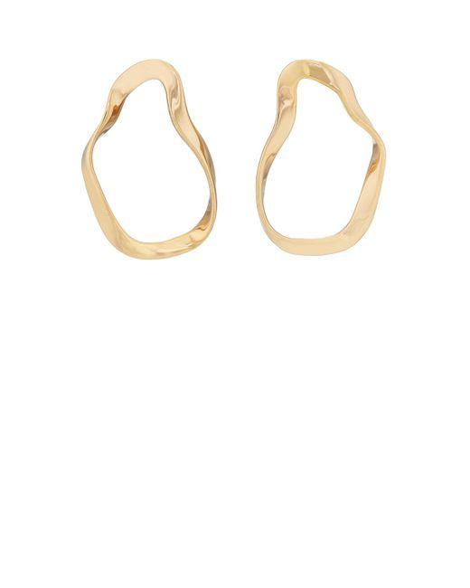 Agmes - Metallic Small Vera Earrings - Lyst