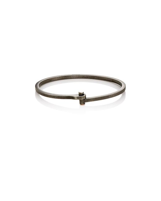 Miansai | Black Nyx Cuff Bracelet for Men | Lyst