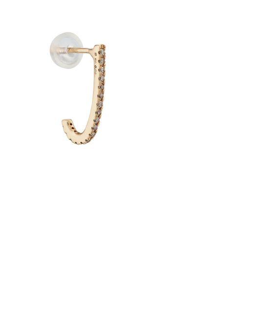 Hirotaka - Metallic Inner Hook s Earring - Lyst