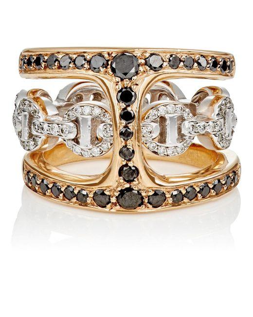 Hoorsenbuhs - Metallic Dame Phantom Clique Ring Size 5.5 - Lyst