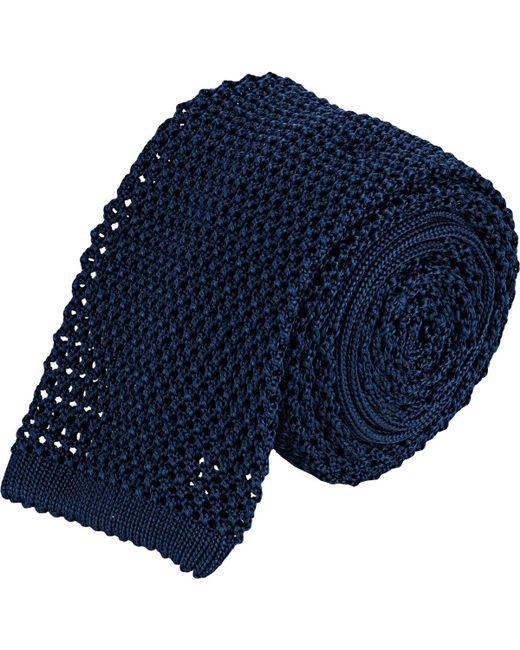 Barneys New York | Blue Crochet Neck Tie for Men | Lyst