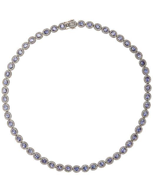Munnu - Metallic Mixed-gemstone Oval - Lyst