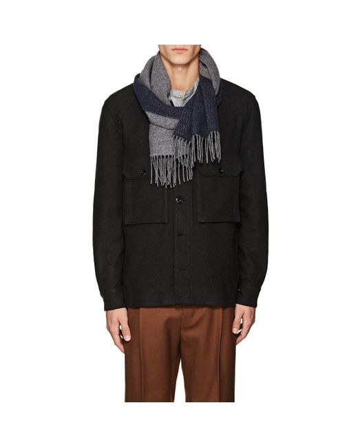 Barneys New York - Multicolor Cashmere Double for Men - Lyst