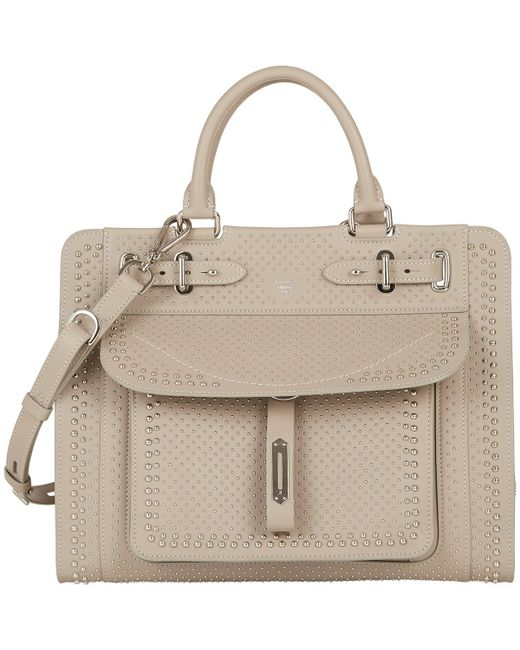 Fontana Milano 1915 - Gray Top-Handle Satchel - Lyst