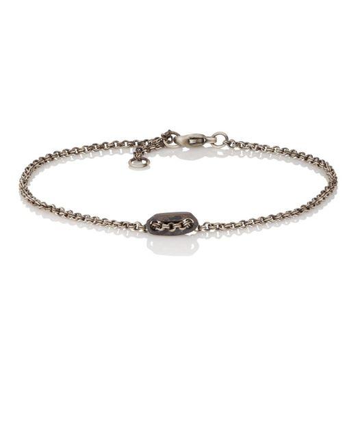 Zadeh - Black St. Tropez Chain Bracelet for Men - Lyst