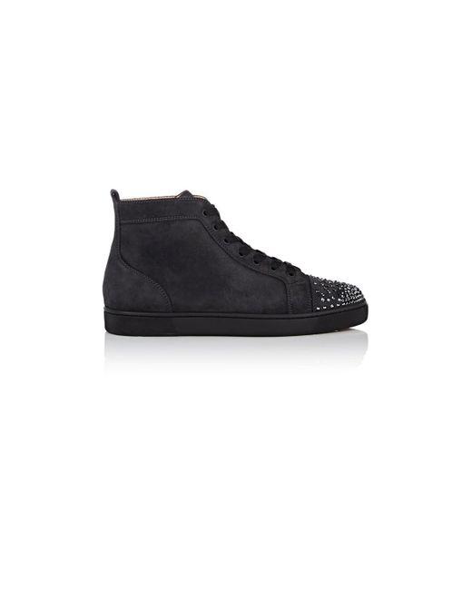 7b4acdac745 store louboutin sneakers grey c0d99 e6fff