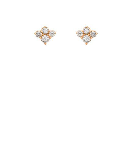 Sara Weinstock - White Cluster Stud Earrings - Lyst