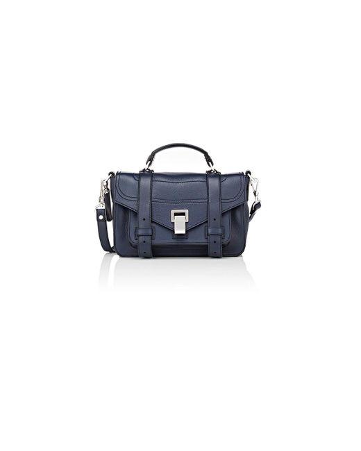 Proenza Schouler - Blue Ps1+ Tiny Shoulder Bag - Lyst
