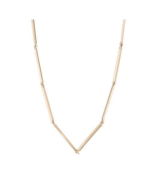 Grace Lee | Metallic Linear Necklace | Lyst