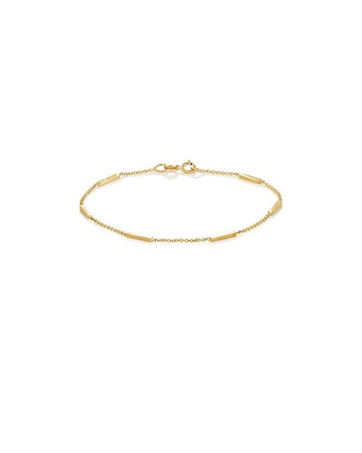 Jennifer Meyer | Metallic Bars On Chain Bracelet | Lyst