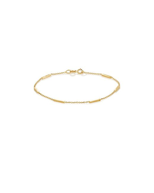 Jennifer Meyer - Metallic Bar Bracelet - Lyst