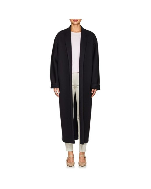 The Row - Blue Maiph Neoprene Jersey Oversized Coat - Lyst