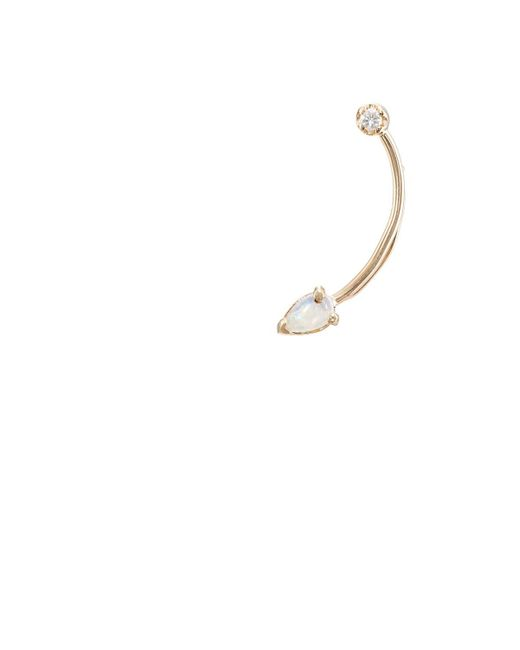 Loren Stewart - Metallic Curved-wire Ear Pin - Lyst